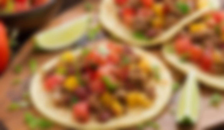 Tortillas with Chili Con Carne